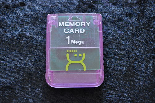 Memory Card 1 Mega Paars Playstation 1