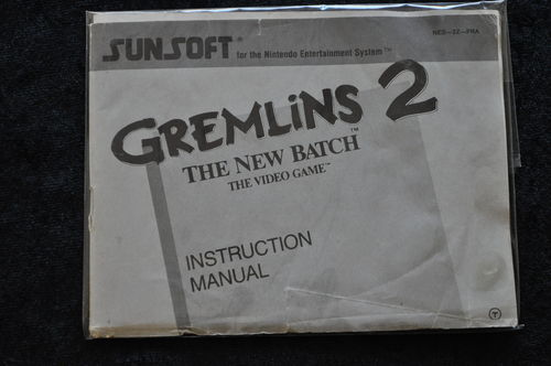 Gremlins 2 The New Batch The Video Game Nintendo NES