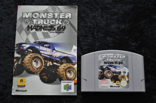 Monster Truck Madness 64 + Manual Nintendo 64 N64 PAL