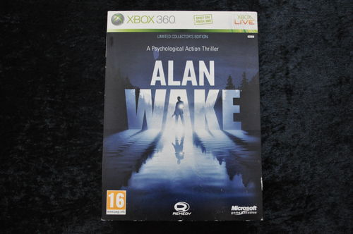 Alan Wake Limited Collector s Edition XBOX 360