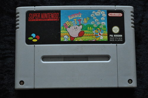 Kirby's Ghost Trap Nintendo Snes PAL