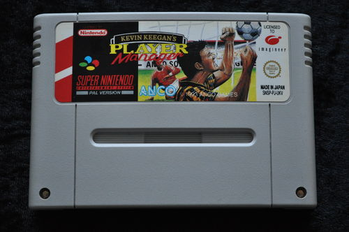 Kevin Keegan's Player Manager Nintendo SNES PAL