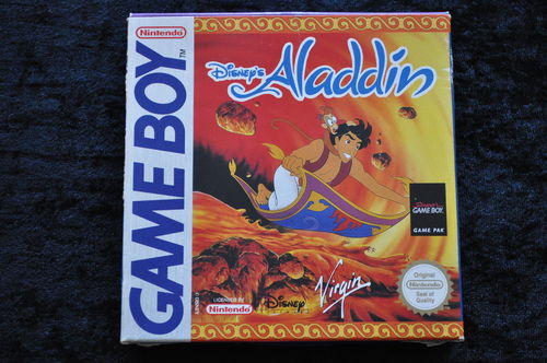 Disney's Aladdin Gameboy classic Boxed