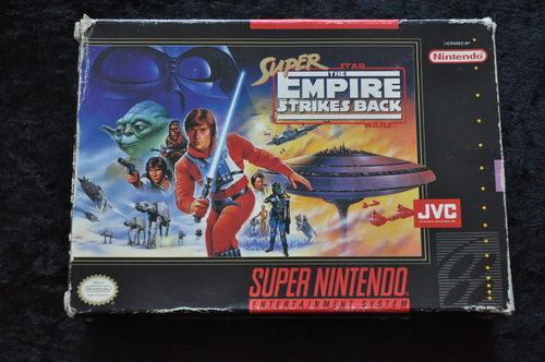 Super Star wars The Empire Strikes Back Nintendo Snes Boxed NTSC