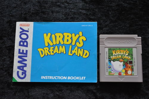 Kirby's Dream Land + Manual Gameboy Classic