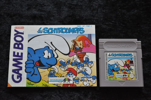 Les Schtroumpfs + Manual Gameboy Classic