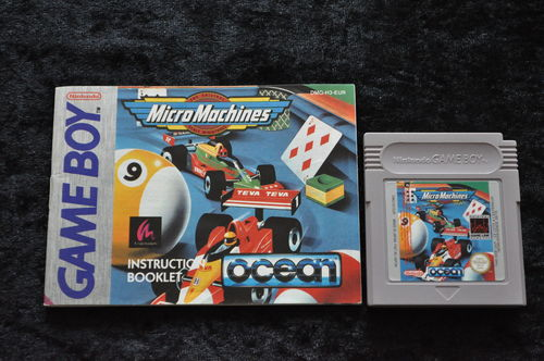 Micro Machines + Manual Gameboy Classic