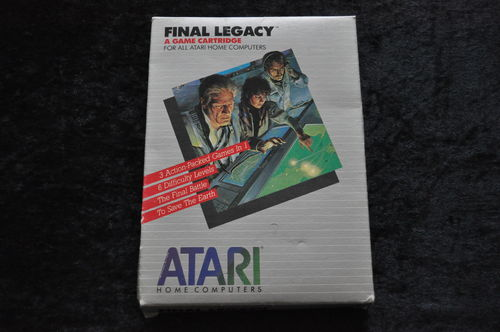 Final-Legacy Atari XE/XL Boxed RX8067