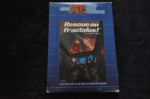 Rescue On Fractalus Atari XE/XL Boxed
