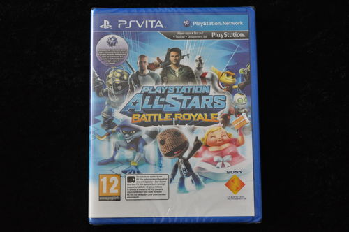 All Stars Battle Royale PS Vita New Sealed