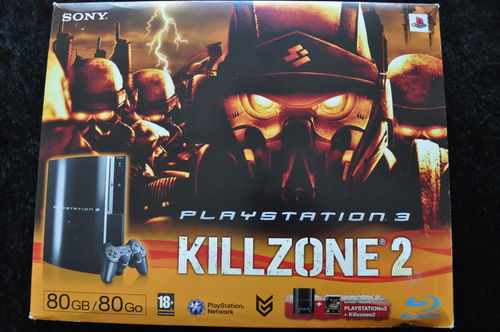 Killzone 2 PlayStation 3 PS3 80GB Edition Boxed