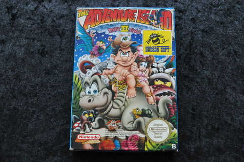The Adventure Island Part II Two Nintendo NES Boxed PAL B