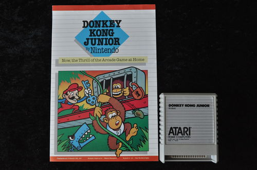 Donkey Kong Junior Atari 400/800/1200/ XE/XL RX 8040 + Manual