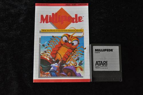 Millipede Atari 400/800/1200/ XE/XL RX 8048 + Manual