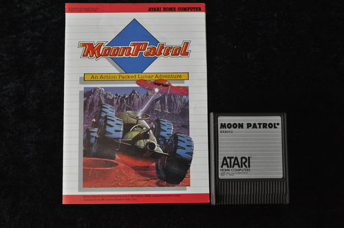 Moon Patrol Atari 400/800/1200/ XE/XL RX 8052 + Manual