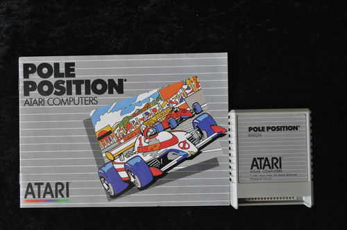 Pole Position  Atari 400/800/1200/ XE/XL RX 8034 + Manual