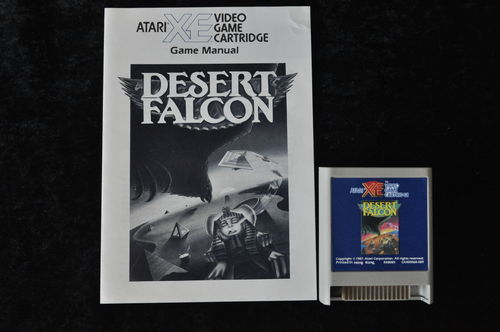 Desert Falcon Atari XE/XL + Manual