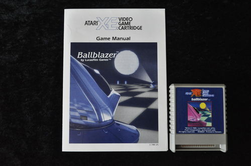 Ballblazer Atari XE/XL + Manual